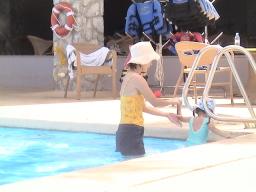 グアム・ホテルのプール